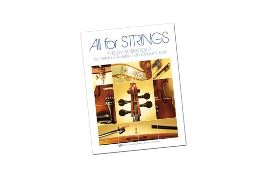 All for Strings Theory Workbook 2 - Violin (KJOS 85VN)
