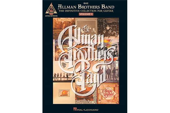 Allman Brothers Band - Definitive Guitar Collection 1