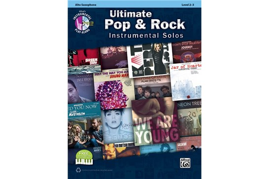 Ultimate Pop & Rock Instrumental Solos (Alto Sax)