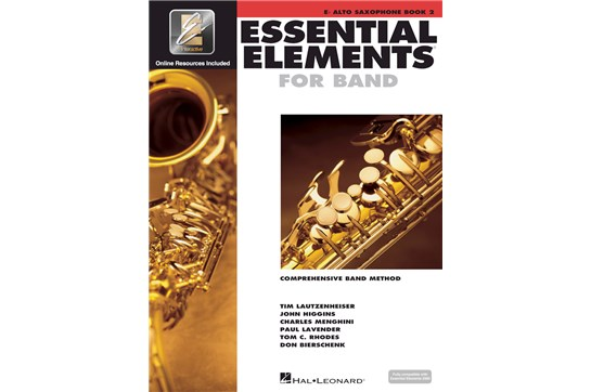 Essential Elements Alto Sax Lesson Book 2