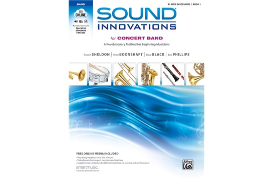 Sound Innovations for Concert Band - Alto Saxophone Book 1