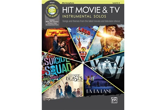 Hit Movie & TV Instrumental Solos (Alto Sax)
