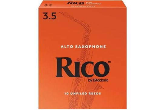 Rico Alto Saxophone Reeds Strength 3.5 (Box of 10)
