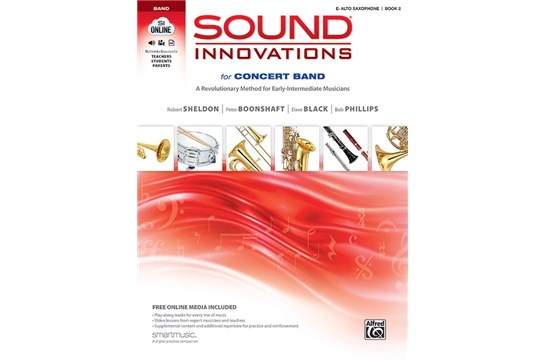 Sound Innovations for Concert Band - Alto Sax Book 2