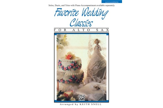 Favorite Wedding Classics for Alto Sax