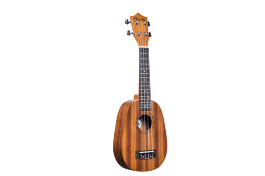 Amahi UK240S Pineapple Soprano Ukulele w/Case