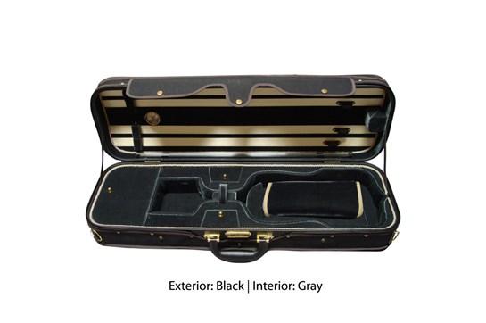 Angel Strings 4/4 Violin Case CP01M Black/Grey