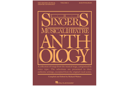 The Singer's Musical Theatre Anthology Volume 5 - Baritone/Bass