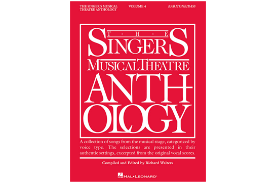 The Singer's Musical Theatre Anthology Volume 4 - Baritone/Bass