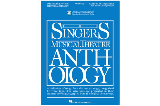 The Singer's Musical Theatre Anthology Volume 4 - Mezzo-Soprano/Belter (Online Audio)