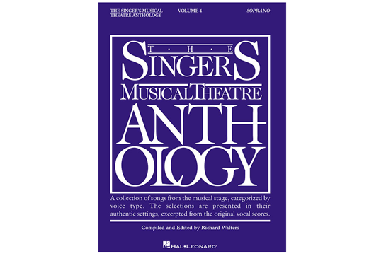 The Singer's Musical Theatre Anthology Volume 4 - Soprano