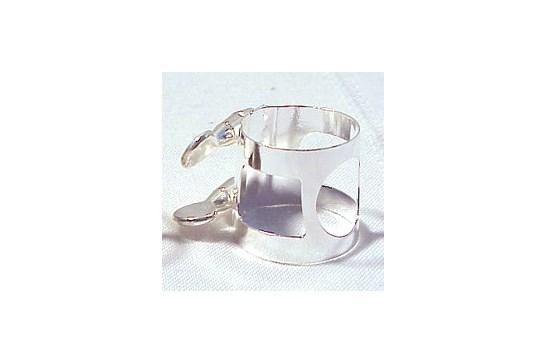 AP&M Clarinet Nickel Plate 332N Bagged Ligature