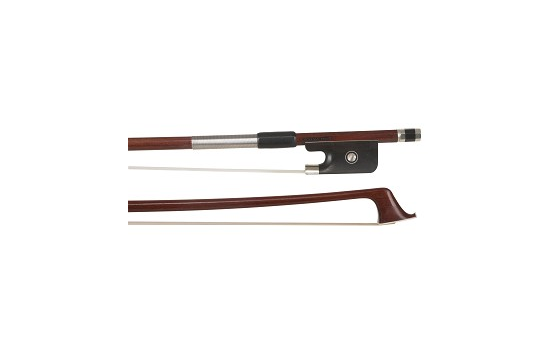 Arcos Brasil Nickel Mounted Pernambuco Violin Bow - 4/4