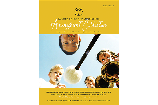 Rubber Band Arrangement Collection: Student Book for Mallet Percussion