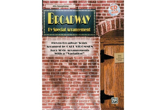 Broadway by Special Arrangement Book and CD (Alto Sax)
