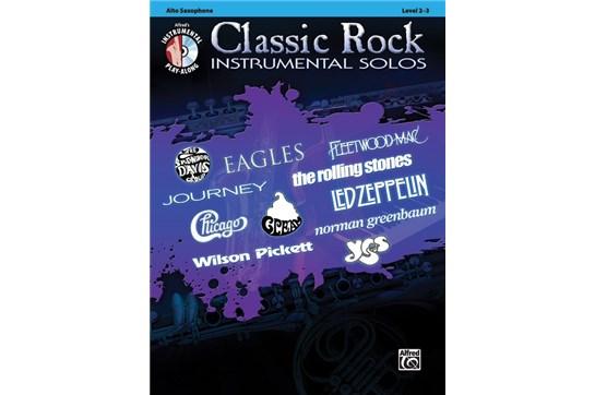 Classic Rock Instrumental Solos for Alto Saxophone