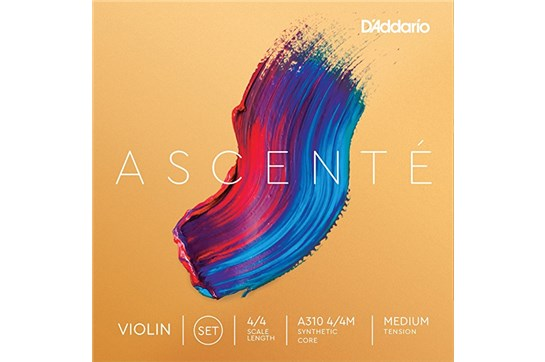 D'Addario Ascente 4/4 Violin String Set