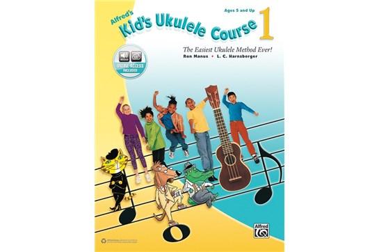 Alfreds Kids Ukulele Course 1 w/Audio