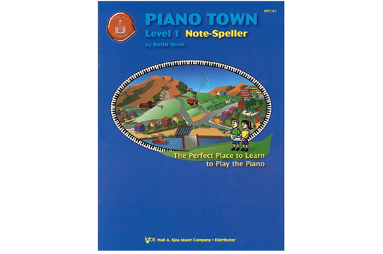 Piano Town Note-Speller, Level One