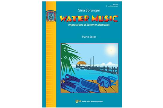 Water Music - Piano Solo(7111C32)