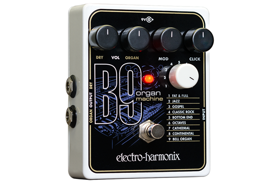 Electro-Harmonix B9 Organ Machine Guitar Effects Pedal