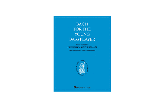 2411B12 Bach For the Young Bass Player