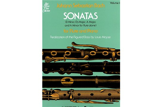 J.S. Bach Sonatas for Flute and Piano, Vol. 1