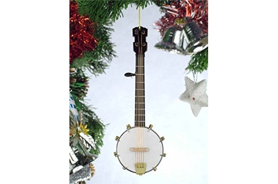 Broadway Gifts Banjo Ornament