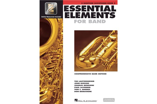 Essential Elements Bari Sax Lesson Book 2