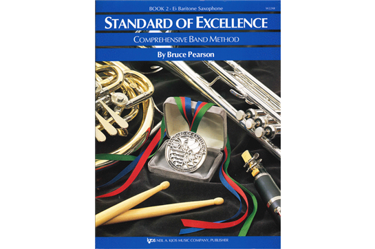 Standard of Excellence Bari Sax Lesson Book 2
