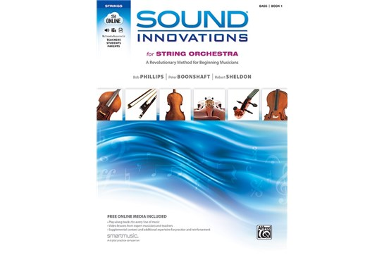 Sound Innovations for String Orchestra - Bass Book 1