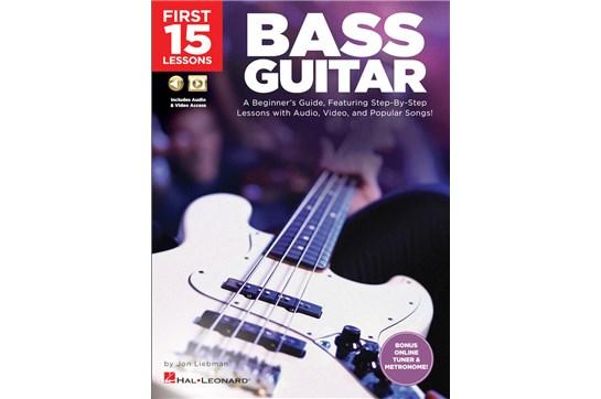First 15 Lessons - Bass Guitar