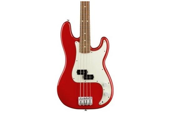 Fender Player Precision Bass Guitar (Pau Ferro, Sonic Red)