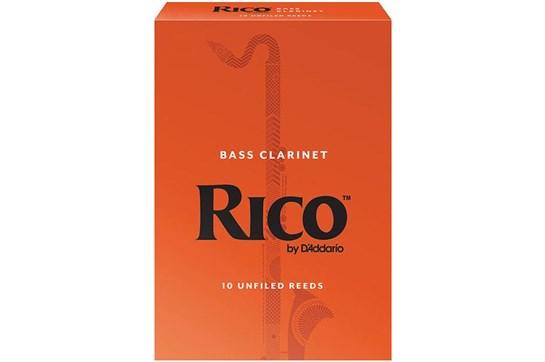 Rico Bass Clarinet Reeds Strength 2.5 (Box of 10)