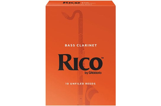 Rico Bass Clarinet Reeds Strength 3.5 (Box of 10)