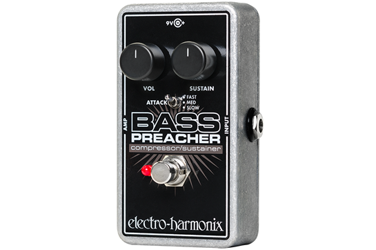 Electro-Harmonix Bass Preacher Effects Pedal