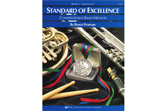 Standard of Excellence Baritone B.C. Lesson Book 2