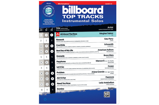 Billboard Top Tracks (Alto Sax)