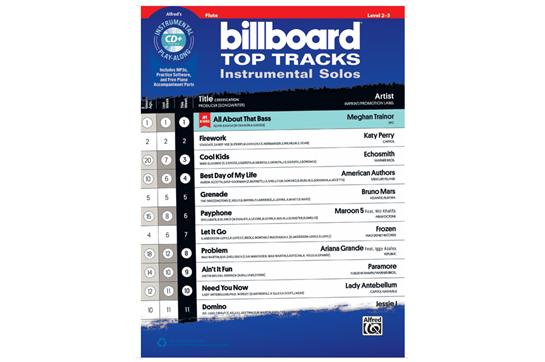 Billboard Top Tracks (Flute)