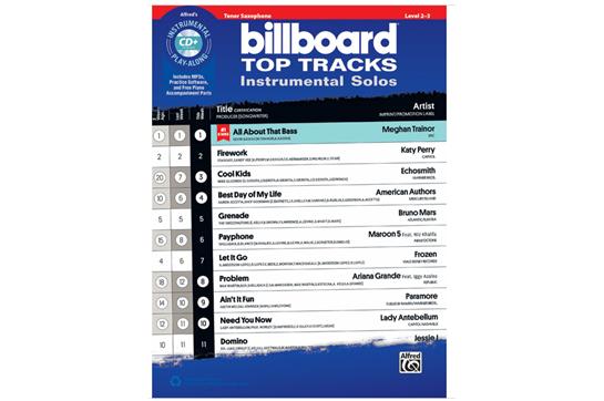 Billboard Top Tracks (Tenor Sax)