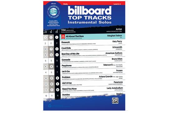 Billboard Top Tracks (Violin)