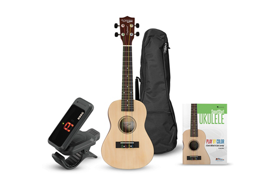Tanglewood Ukulele Learn to Play Bundle (Natural)