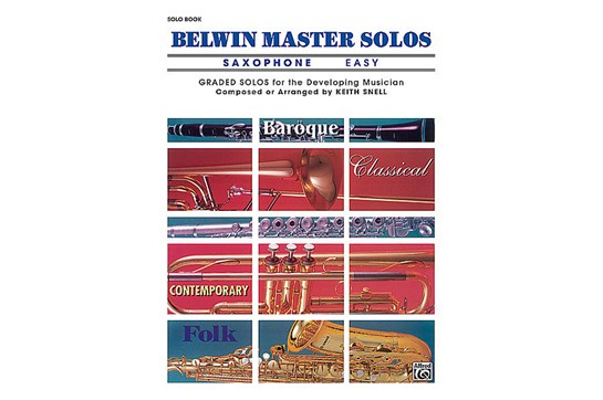 Belwin Master Solos (Alto Saxophone), Volume 1 Easy