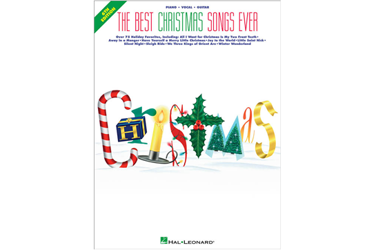 The Best Christmas Songs Ever - 6th Edition