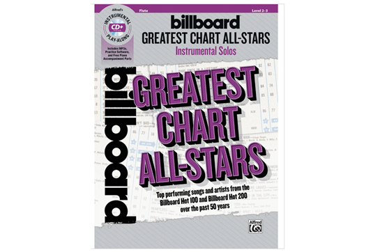 Billboard Greatest Chart All Stars (Flute)