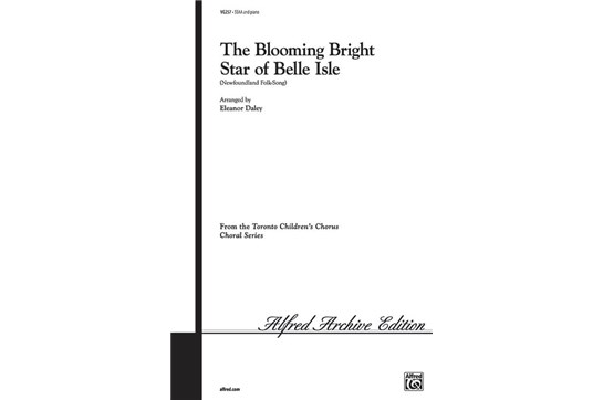 Blooming Bright Star of Belle Isle - SSAA