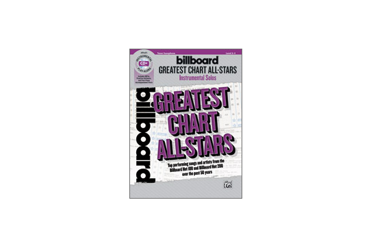 Billboard Greatest Chart All Stars (Tenor Sax)