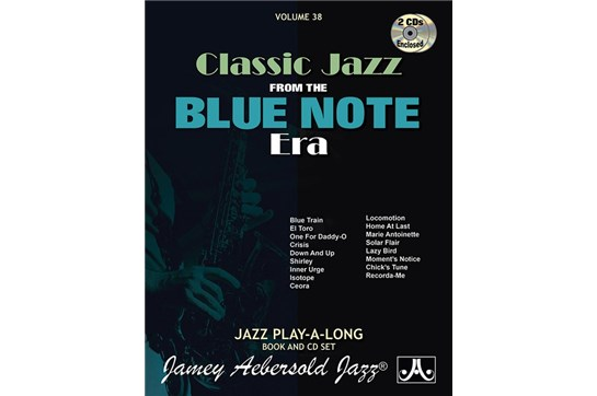 Jamey Aebersold Jazz, Volume 38: Classic Jazz from the Blue Note Era