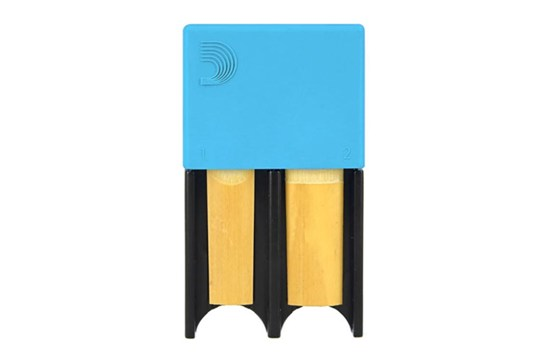 D'Addario Reed Guard - Large (Blue)