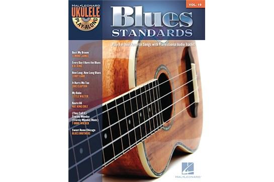 Blues Standards Ukulele Play-Along Volume 19